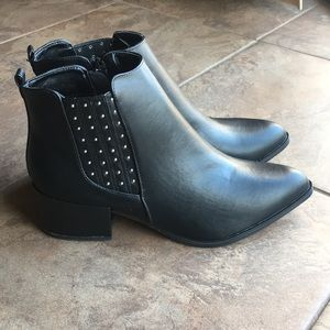 Qupid Studded Bootie - New